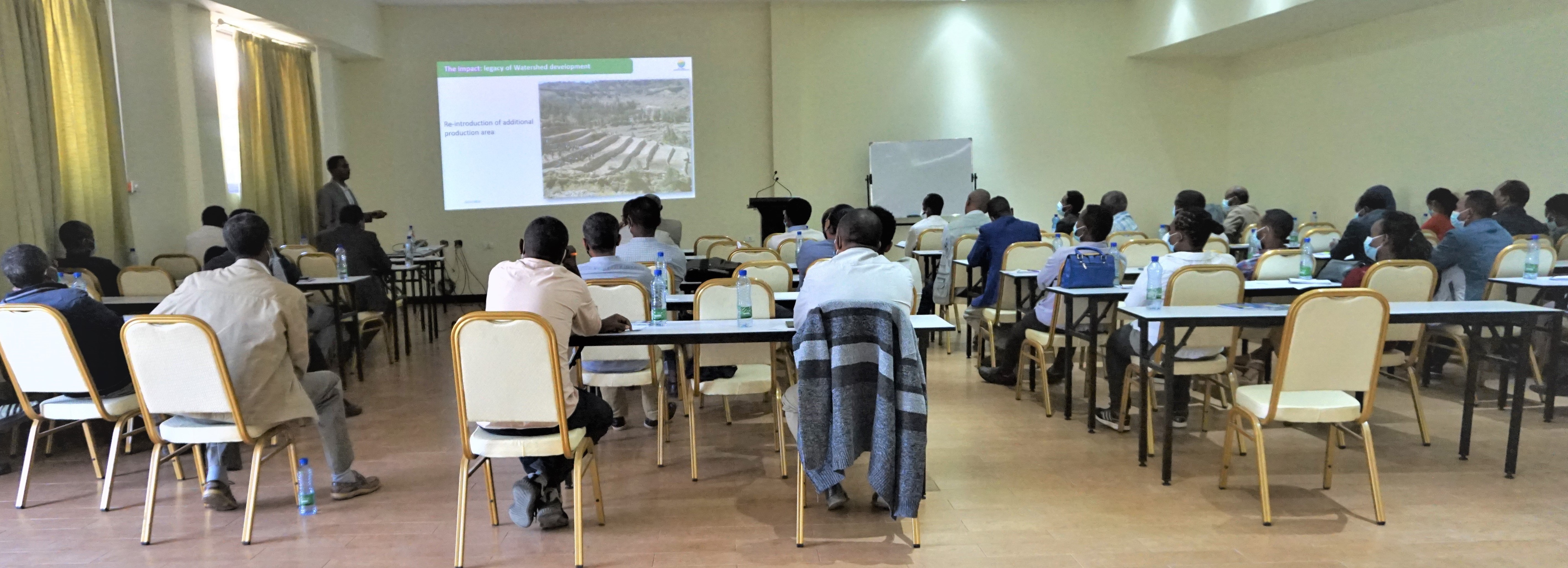 Participants during the workshop. Photo: World Agroforestry/Eyob Getahun
