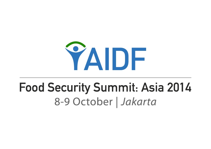 Asian Food Security Summit in Jakarta, 8-9 October 2014