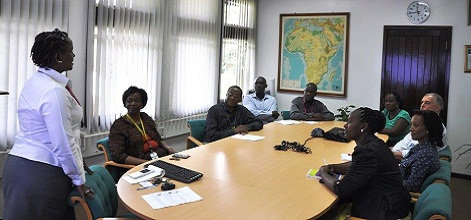 ICRAF staff from Eastern and Southern Africa regions get together