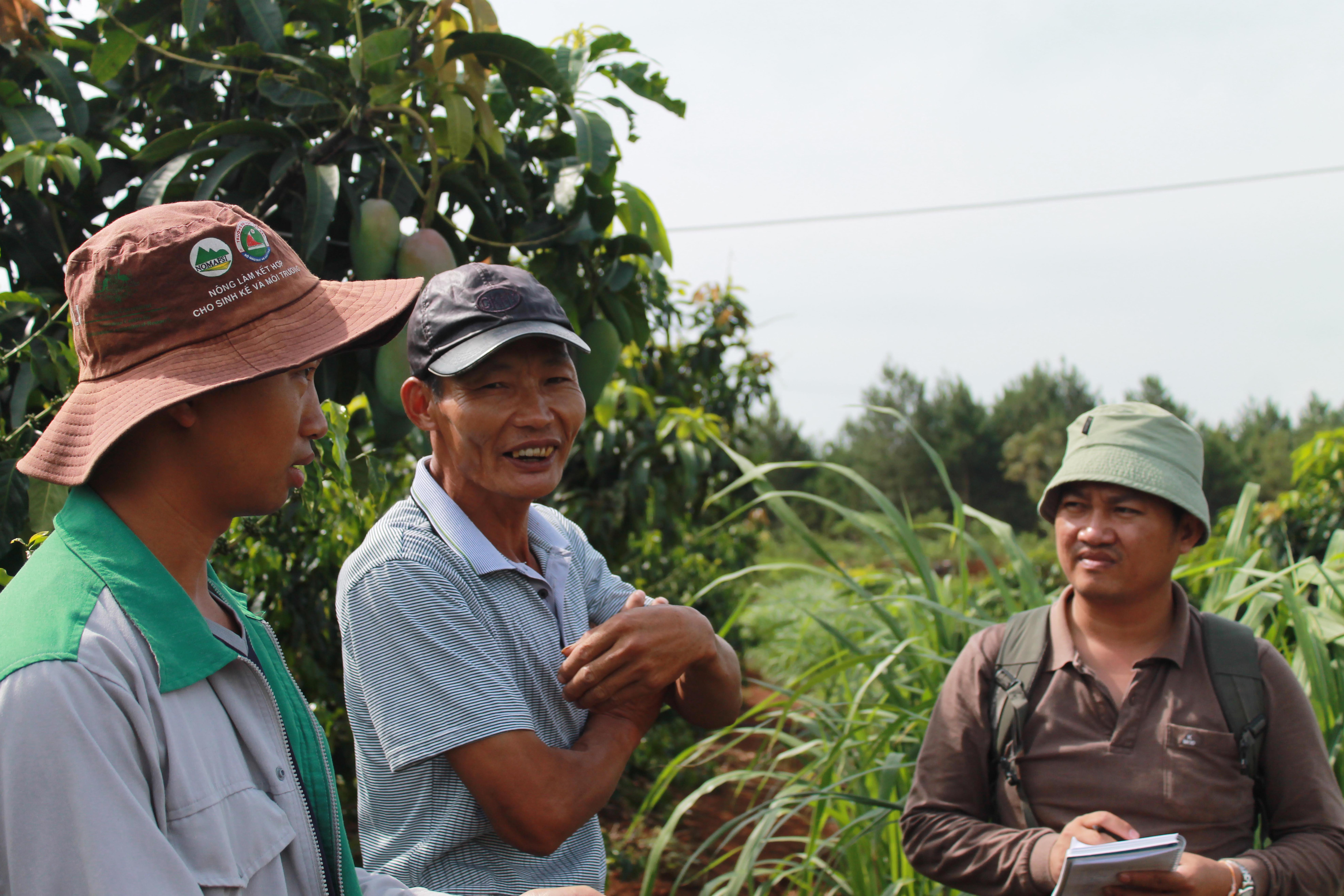 Researchers from Viet Nam and Lao PDR learn how to use the Agroecological Knowledge Toolkit