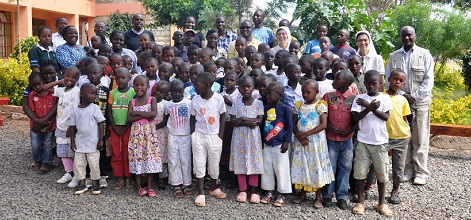 Evergreen Agriculture Team Visit Martyrs of Uganda Children's Home, Machakos